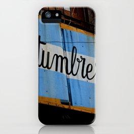 Argentine Culture iPhone Case