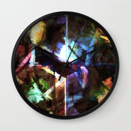 Revision of my blurred memories Wall Clock