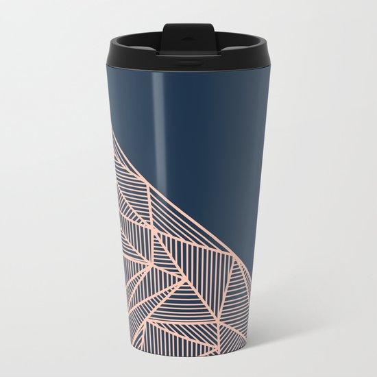 B Rays Geo 1 Metal Travel Mug
