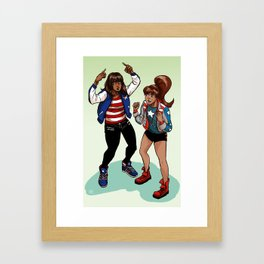 Everyone's an America Chavez fan Framed Art Print