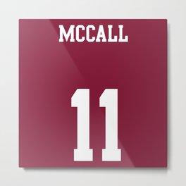 MCCALL - 11 Metal Print
