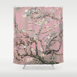 Almond Blossom - Vincent Van Gogh (pink pastel) Shower Curtain