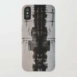 Industrial (retro postcard) iPhone Case