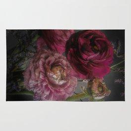 Ranunculus and Romance Rug