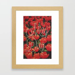 May Day Framed Art Print