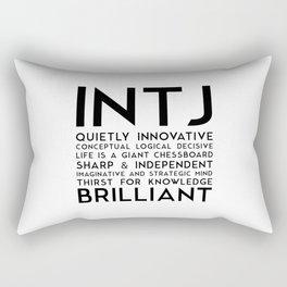 INTJ Rectangular Pillow