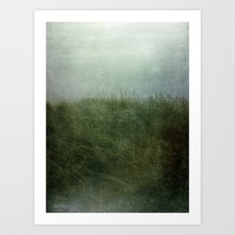 Summer Love at a Twilight Beach Art Print