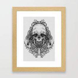 Everything with Skulls - 04 Framed Art Print