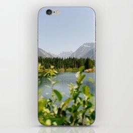Gold Creek Pond iPhone Skin