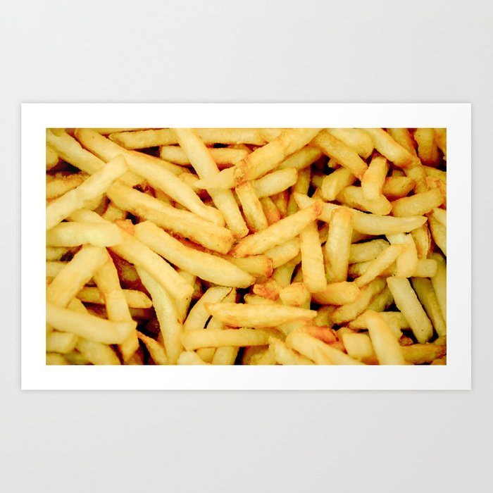 French Fries Kunstdrucke