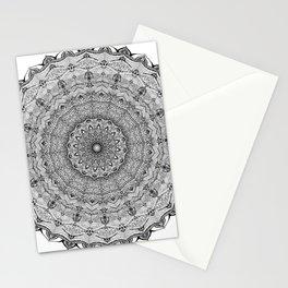 Mandala Project 626 | Black and White Lace Mandala Stationery Cards