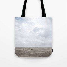 Grayland Beach on a Cloudy Day Tote Bag
