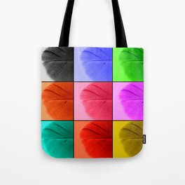 Pop Feathers Tote Bag