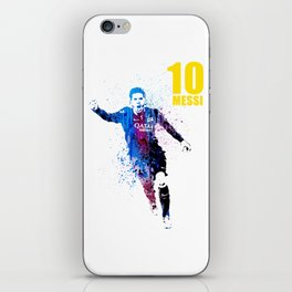 Sports art _ Barcelona iPhone Skin