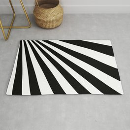 Illusioned triangles Rug