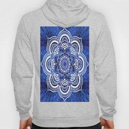 Mandala Blue Colorburst Hoody