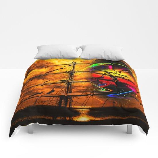 Under sail  Comforters