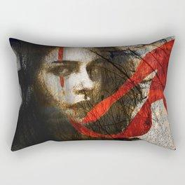 it's all in my head Rectangular Pillow
