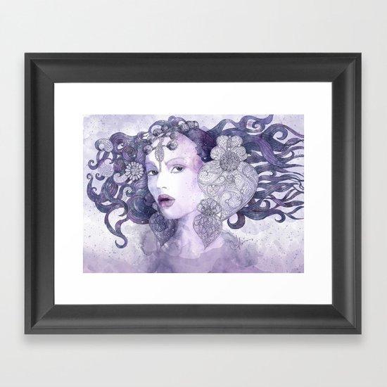 Filigran Framed Art Print