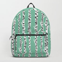 Birch Tree northwest minimal forest woodland nature pattern by andrea lauren Backpack