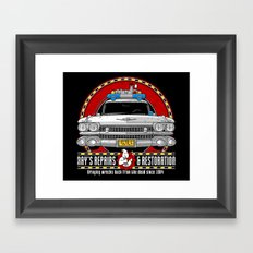 Ray's Repairs and Restoration Framed Art Print