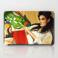 reading iPad Cases featuring Reading by Madelyne Joan Templeton