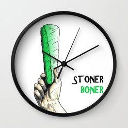Stoner Boner Wall Clock