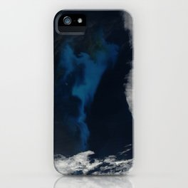 North Atlantic Aerial Photography iPhone Case