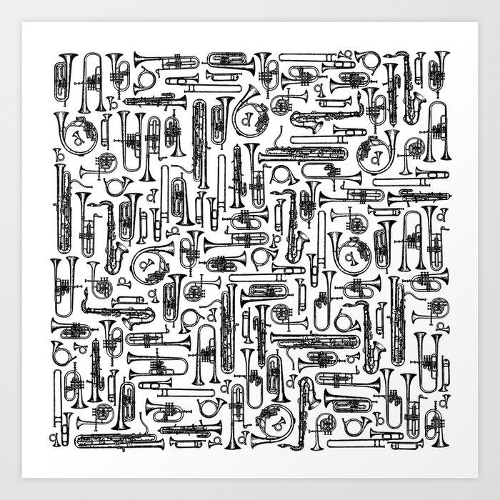 Horns B&W II Kunstdrucke