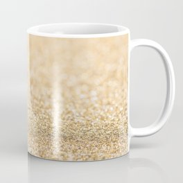 Beautiful champagne gold glitter sparkles Coffee Mug