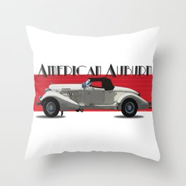 American Auburn Throw Pillow