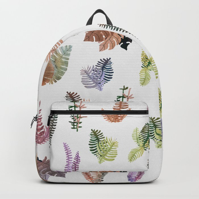 tropical leaves color Backpack