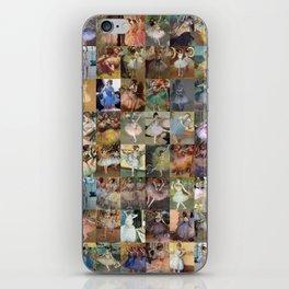 Edgar Degas Dancers Montage iPhone Skin