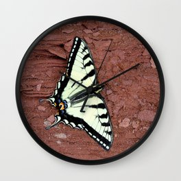 Canadian Tiger Swallowtail Wall Clock
