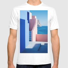 Colour architecture Mens Fitted Tee MEDIUM White