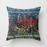 jungle Throw Pillows featuring jungle by gasponce