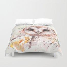 Australian Barn Owl Duvet Cover