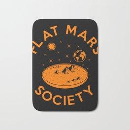 Flat mars society Bath Mat