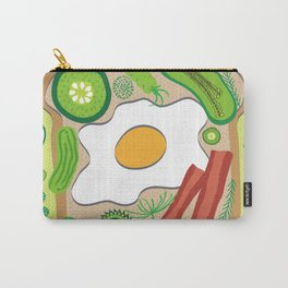 Breakfast in Bed Carry-All Pouch
