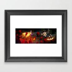 Cute Dungeon Crawling Framed Art Print