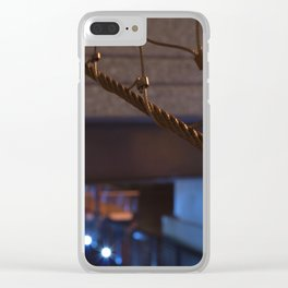 Color Contrast Clear iPhone Case