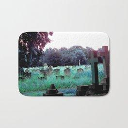 Meet You At The Cemetery Gates Bath Mat