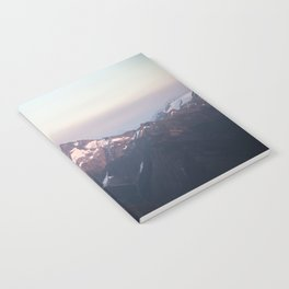Pastel Mountains Notebook