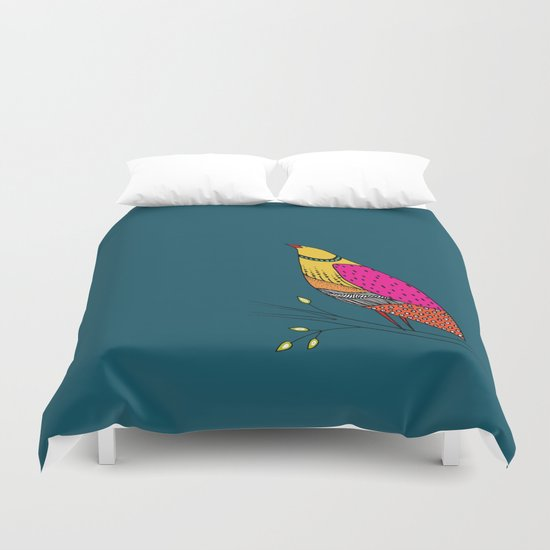 the colored Neville Duvet Cover