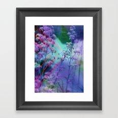FlORAL FOREST Framed Art Print