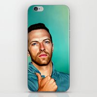 coldplay iPhone & iPod Skins featuring Blue Eyes by tillieke