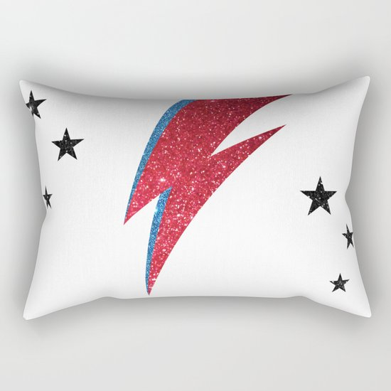 Bowie - Stardust Rectangular Pillow