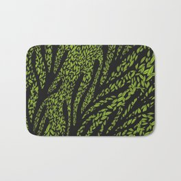Night Leaves Bath Mat