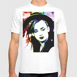 Boy George - Karma Chameleon - Pop Art T-shirt