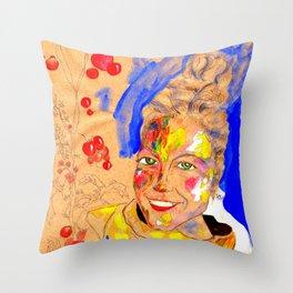 Smile 1 Throw Pillow